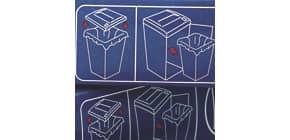 Abfallbeutel Plastik 175l/100ST REXEL 40095 Produktbild