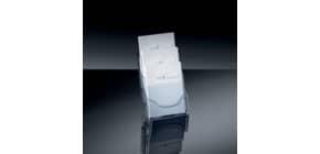 Prospekthalter A5 3Fäch transparent SIGEL LH132 Tisch Acryl Produktbild