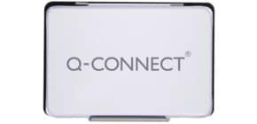 Stempelkissen Gr.3 9x5,5cm schwarz Q-CONNECT KF16315 Produktbild