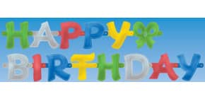 Partykette Happy Birthday RIETHMÜLLER 1722 Produktbild