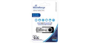 USB Stick 2,0 high speed MEDIA RANGE MR908 8Gb Produktbild