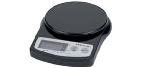 Briefwaage MAULalpha schwarz MAUL 16420 90 Batterie  2000 g Produktbild