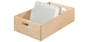 Karteitrog Holz A5 quer HAN 1005-0 Produktbild