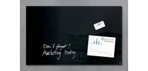 Magnettafel Glas schwarz SIGEL GL130 780x480x15 Produktbild