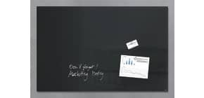 Magnettafel Glas schwarz SIGEL GL140 1000x650x15 Produktbild