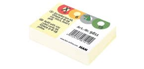 Karteikarte A8 100 Stück gelb HAN 9811 liniert Produktbild