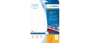 Folienetiketten 48,3x25,4 weiß HERMA 4690 SuperPrint Produktbild