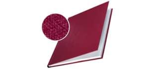 Buchbindemappe 10 Stück A4 bordeaux LEITZ 7391-00-28 Hardcover 7mm Produktbild