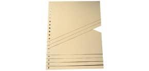 Staffeltrennblatt A4 100 Stück chamois 9591100100 190 - 200 g/qm Produktbild
