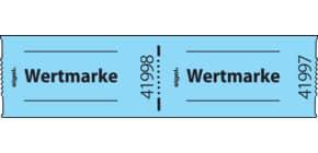 Gutscheinmarke 500 Stück / Rolle blau SIGEL Gr555 Wertmarke Produktbild