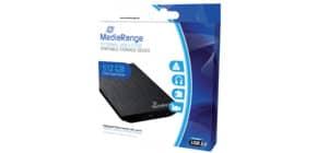 Festplatte extern SSD 512GB MEDIARANGE MR992 Produktbild