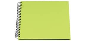 Fotospiralbuch Soho limette RÖSSLER 1329452327 290x290mm Produktbild