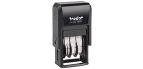 Stempel Printy 4850 BEZAHLT TRODAT 4850 L2 BEZAHLT Fixtext Produktbild
