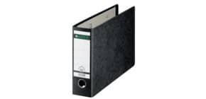 Ordner Pappe A4 quer schwarz LEITZ 10740095 80mm Produktbild