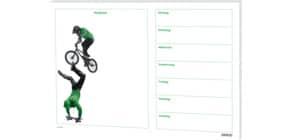 Block-Schreibunterlage 60x42cm RNK 46610  Jump! Skater & BMX Produktbild