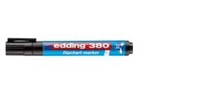 Flipchartmarker cap off schwarz EDDING 4-380001 nachfüllbar Produktbild