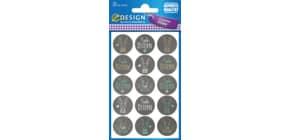 Oster Decorsticker Buttons AVERY ZWECKFORM 39181 Produktbild