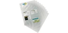 Visitenkarten Ersatzhülle A4, 10 Stück DURABLE 2389 19 Produktbild