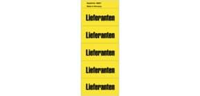 Inhaltsschild Lieferanten gelb NEUTRAL 5897  selbstklebend 100 Stück Produktbild