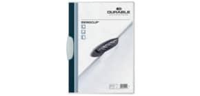 Klemmmappe Swingclip A4 weiß DURABLE 2260 02, 30 Blatt Produktbild