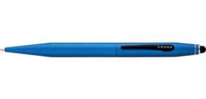 Kugelschreiber TECH 2 blau CROSS AT0652-6 metallic Produktbild