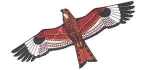 Drachen 71x133cm Roter Milan Thomas 30 inkl.Schnur Produktbild