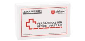 Verbandkasten mit Inhalt weiß LEINA-WERKE 20007 DIN 13157 Produktbild