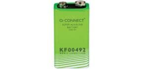 Batterie 9V Stück E block Q-CONNECT KF00492 Produktbild