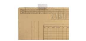 Vollsichtreiter 3-zeilig 50mm 50ST LEITZ 2455-00-00 mit Schild Produktbild