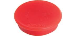 Magnet 10ST rot FRANKEN HM10 01 D13 mm Produktbild