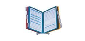 Sichttafelständer 10-teilig sortiert DURABLE 5570 00 mit Tafeln Produktbild