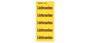 Inhaltsschildchen Lieferant 100 Stück LEITZ 15080000 selbstklebend Produktbild