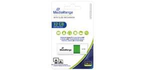 USB Stick 32GB grün MEDIA RANGE MR973 2.0 Produktbild