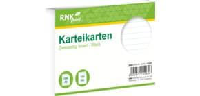 Karteikarte A6 100 Stück weiß RNK 115060 liniert Produktbild