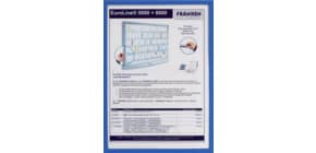 Prospekttasche A3 blau FRANKEN ITS A3M03 magnetisch Produktbild