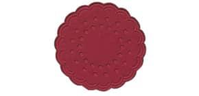 Tassenuntersetzer orien.rot DUNI 351843 Zellt. D7,5cm 25ST Produktbild