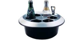Konferenzkühler  schwarz/silber ALFI 0360 020 000 Produktbild