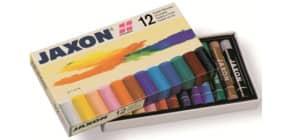 Pastell-Ölkreide sort. JAXON 47412  12er-Et Produktbild