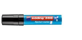 Flipchartmarker 388 schwarz EDDING 4-388001 Produktbild