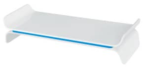 Bildschirmträger Ergo WOW weiß/blau LEITZ 6504-00-36 höhenverstellbar Produktbild