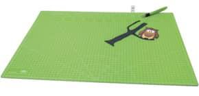 Schneideunterlage 60x45cm grün WEDO 79 260 Produktbild