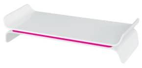 Bildschirmträger Ergo WOW weiß/pink LEITZ 6504-00-23 höhenverstellbar Produktbild