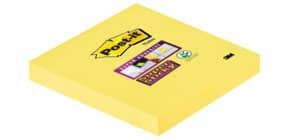 Haftnotizblock 76x76mm narz.gelb POST IT 654-S 90Bl SuperSticky Produktbild