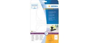 Universaletiketten D116 weiß HERMA 5115 A4, 25 Blatt CD maxi Produktbild