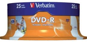 DVD-R 25erSpindel print. VERBATIM 43538 4,7Gb120mi Produktbild