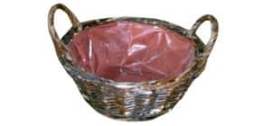 Osternester braun 27002 20cm D. Weide Rund Produktbild