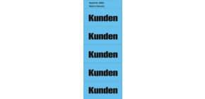 Inhaltsschild Kunden blau NEUTRAL 5895  selbstklebend  100 Stück Produktbild
