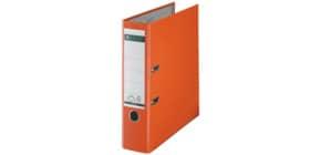 Ordner Plastik A4 8cm orange LEITZ 1010-50-45 Produktbild