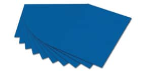 Fotokarton A4  königsblau FOLIA 614/50 35 300g Produktbild