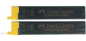 Feinmine SuperPolymer HB 0.35 FABER CASTELL 120300 12St Produktbild